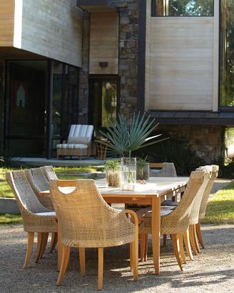 Lane Venture Edgewood Rectangular Outdoor Dining Table