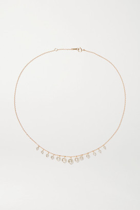 Mizuki 14-karat Gold Pearl Necklace - one size