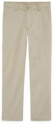 Izod Exclusive Boys Flat Front Pant - Preschool / Big Kid
