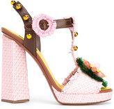 Dolce & Gabbana decorative moven sandals