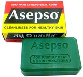 Asepso Antibacterial Agent Soap 2.8 Oz / 80 G from Thailand by Asepso