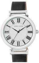 Anne Klein Women's Leather Strap Watch, 38Mm