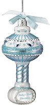 Kurt Adler Babys First Christmas Glass Baby Rattle Ornament NB0894-B Baby Boy