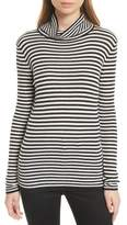 Soft Joie Zelene Stripe Cowl Neck Sweater