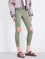 Free People Busted skinny high-rise jeans