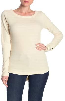 Susina Textured Thermal Long Sleeve Shirt