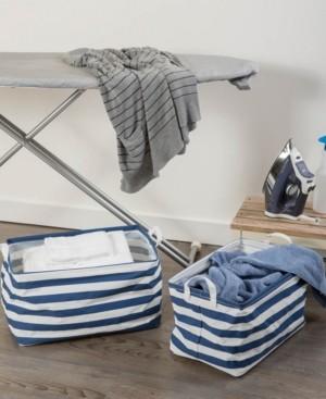 Design Imports Large 2-Pc. Rectangle Laundry Hamper Set