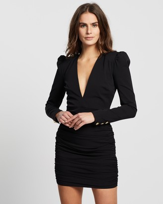 Bec & Bridge Total Eclipse Long Sleeve Mini Dress