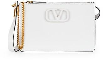 Valentino VSling Leather Crossbody Pouch