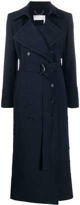 Chloé Double Breasted Midi Trench Coat