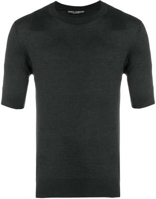 Dolce & Gabbana Half Sleeve Sweater
