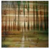 Parvez Taj 32-Inch x 32-Inch Ajax Pine Wood Wall Art