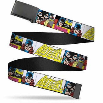 """Buckle Down Buckle-Down Web Belt Batgirl 1.5"""""""