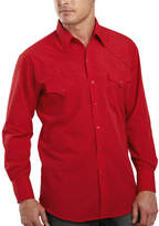 JCPenney Ely Cattleman Long-Sleeve Snap Shirt - Tall