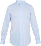 Paul Smith Pin-dot print point-collar cotton shirt