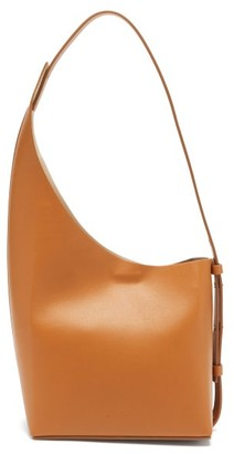 Aesther Ekme Demi Lune Leather Bucket Bag - Brown