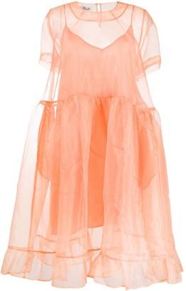 Baum und Pferdgarten Sheer Organza Babydoll Dress