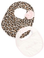 Kate Spade Infant Girl's Ooh La La 2-Piece Bib Gift Set