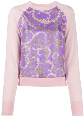 Emilio Pucci Print-Detail Knitted Top