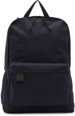 N.Hoolywood Navy Porter Edition Canvas Backpack