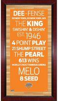 """Steiner Sports New York Knicks 32"""" x 16"""" Vintage Subway Sign"""