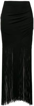 Moschino long tassel skirt