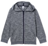 Petit Bateau Boys zipped sweatshirt