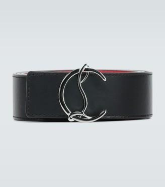 Christian Louboutin Circular logo belt