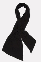 Clothing Solid Scarf in Black