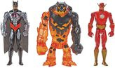 Mattel Batman Unlimited Molten Mayhem Batman & The Flash vs. Clayface 3-pc. Figure Set by
