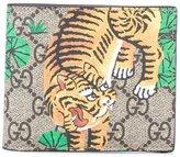 Gucci GG Supreme Bengal tiger wallet