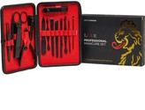 Luke 1977 LUKE 1977 Mens Cutter & Groom Manicure Set Black