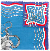 Gucci chain print scarf - women - Silk/Modal - One Size