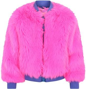 Alberta Ferretti Reversible Girl Bomber Jacket