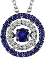 FINE JEWELRY LIMITED QUANTITIES 1/3 CT. T.W. White and Color-Enhanced Blue Diamond Pendant