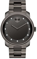 Movado 'Bold' Diamond Dial Bracelet Watch, 42Mm