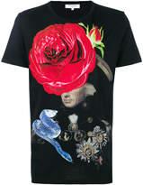 Les Benjamins rose print T-shirt