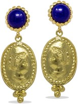 Lapis Vintouch Italy Cleopatra Earrings
