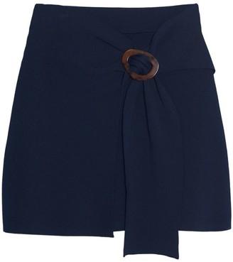 Sandro Passy Buckle Mini Skirt