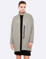 Oxford Twiggy Zip Front Coat