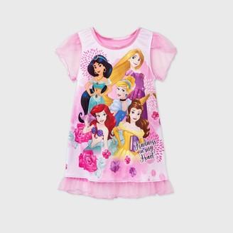 Disney Princess Toddler Girls' Princess Doll & Me Dorm Nightgown -