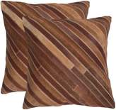 Safavieh Cherilyn 2-piece 22'' x 22'' Throw Pillow Set