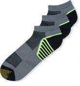 Gold Toe Men's Socks, G-Tec Cocona Athletic Low Cut 3 Pack