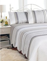 """+Hotel by K-bros&Co HOTEL 07140 """"Hotel""""Quilt Bedspread Set Aztec-D/Q Quilted Bedspread Set Aztec- Full/Queen"""