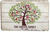"""Personal Creations Personalized Family Tree of Hearts Doormat - 17"""" x 27"""""""