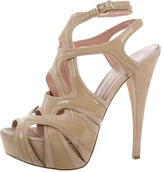 Alejandro Ingelmo Cutout Platform Sandals