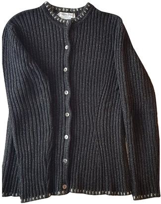 Christian Dior Anthracite Wool Knitwear for Women Vintage