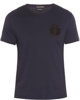 Alexander McQueen Embellished-badge T-shirt