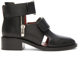 3.1 Phillip Lim Leather Addis Cut Out Boots