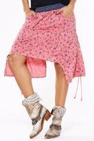 Llena eres de Gracia Asymmetrical Midi Skirt